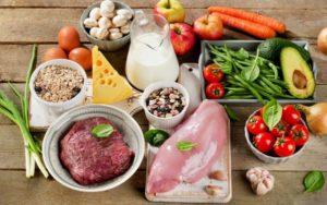 Продукты для рационального питания и его принципов