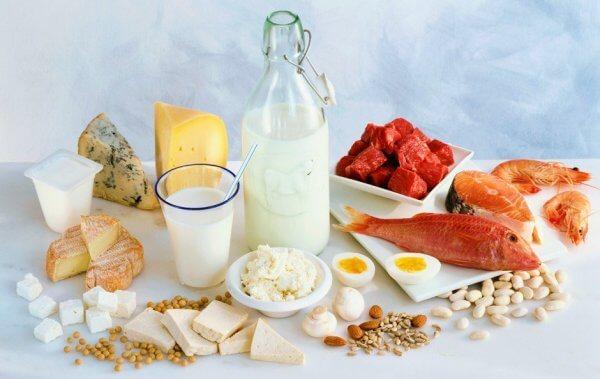 Разрешенные продукты при белковой диете