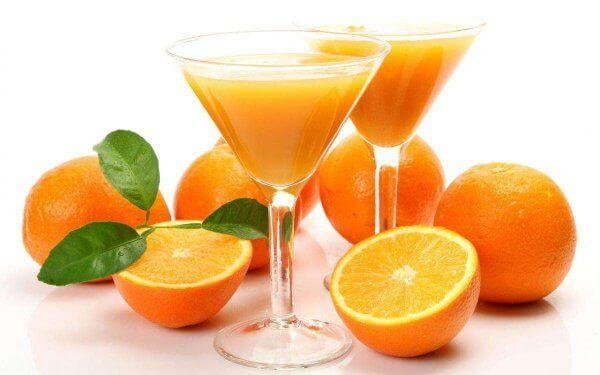 Меню апельсиновой диеты