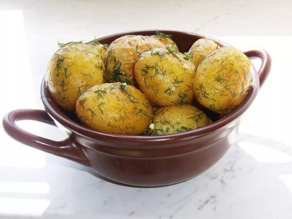 Картошка от лишнего веса