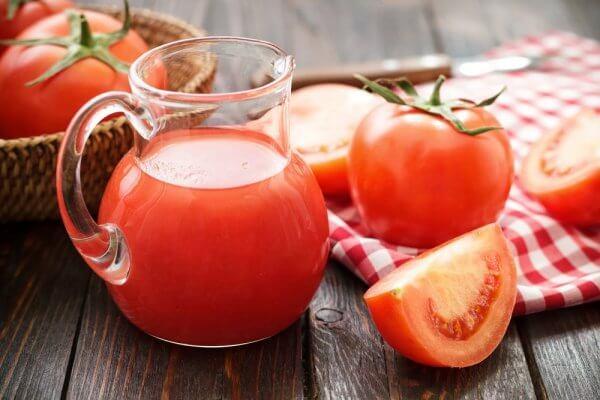 Томатный сок для диеты и похудения