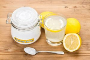 Вода, лимон и сода для похудения