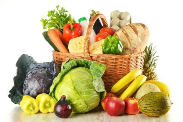 Фрукты и овощи в меню раздельного питания