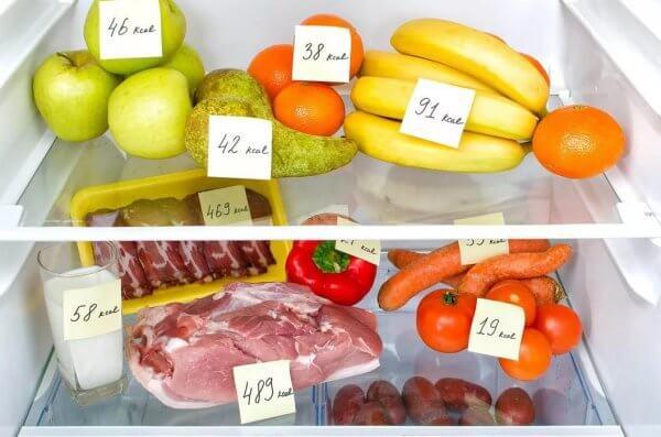 Продукты питания для снижения дневной нормы потребления калорий