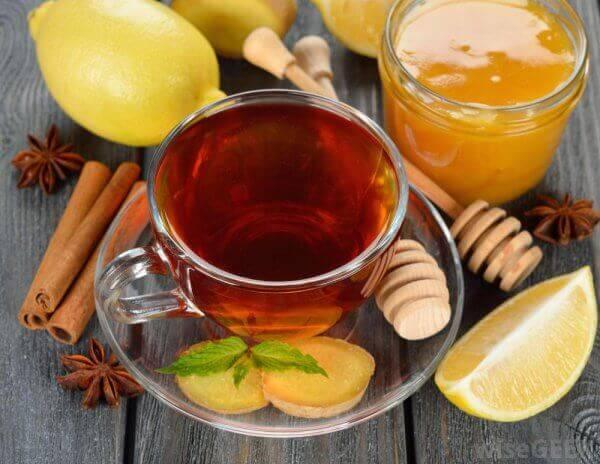Мед, лимоны и имбирь