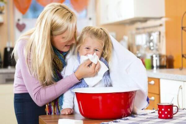 ингаляция от кашля детям