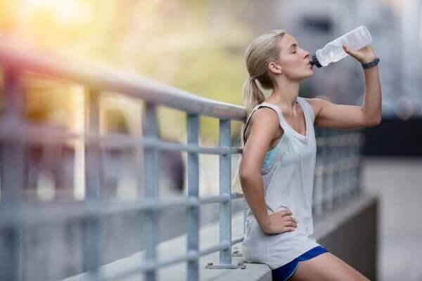 Вода для похудения ног