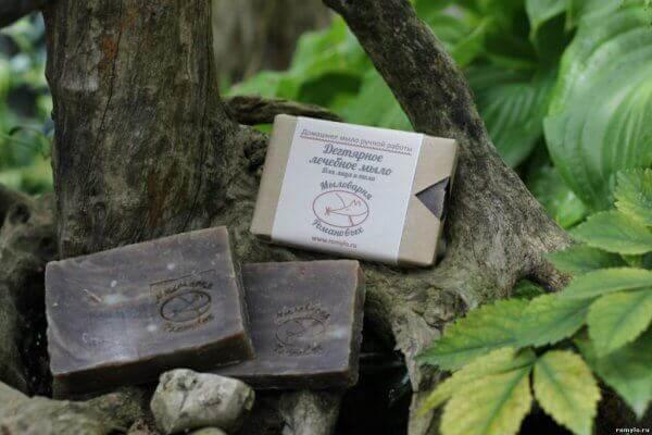 дегтярное мыло предосторожности