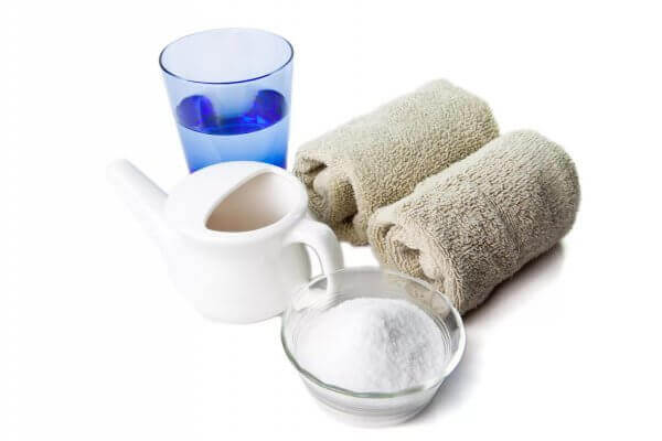 Соленая вода для промывания носа