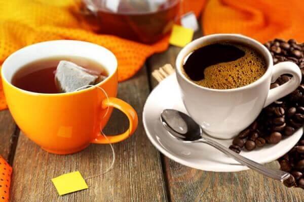 чай и кофе для сохранения загара