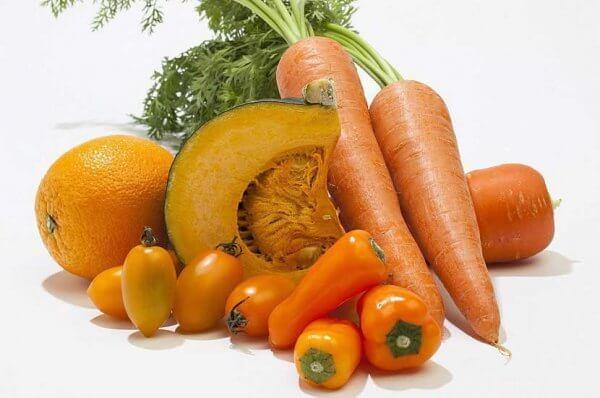 В каких продуктах богатое содержание бета-каротина