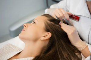 плазмолифтинг для волос на голове