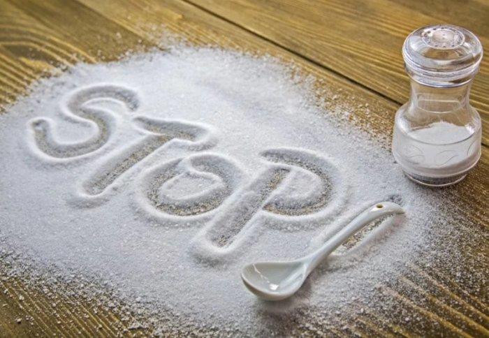 Снижение потребления соли