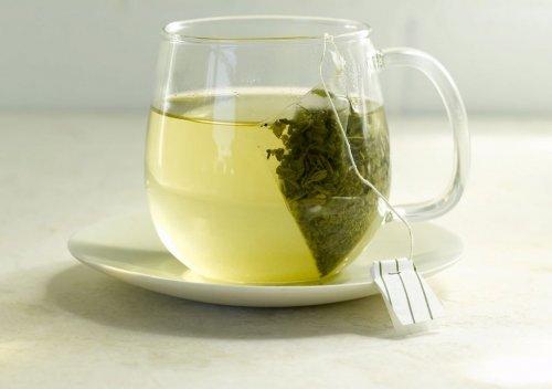 Пакетик зеленого чая от солнечных ожогов