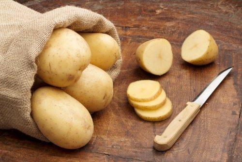 Применение картофеля при солнечных ожошах